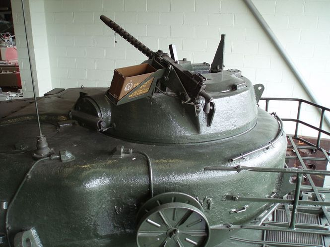 Conqueror's rotating commander's cupola