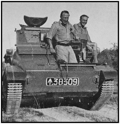 Lt Col Leslie Groves & Capt Basil Wood